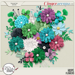 Hope - Flowers - by Neia Scraps