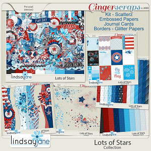 Lots of Stars Collection by Lindsay Jane