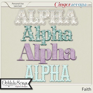 Faith Alphabets