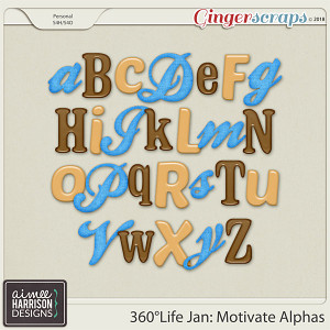 360°Life Jan: Motivate Alpha Sets by Aimee Harrison