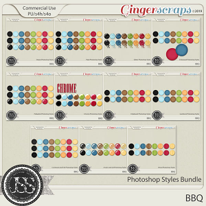 BBQ CU Photoshop Styles Bundle