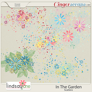 In The Garden Scatterz by Lindsay Jane