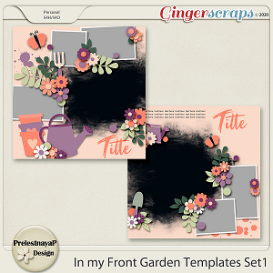 In my Front garden Templates Set1
