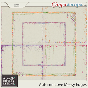 Autumn Love Messy Edges by Aimee Harrison