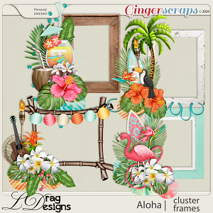 Aloha: Cluster Frames by LDragDesigns