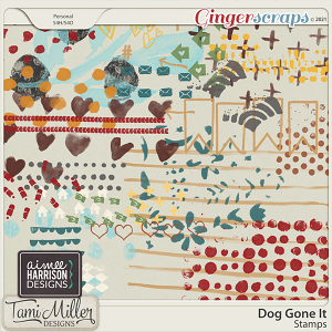 Dog Gone It stamps by Tami Miller and Aimee Harrison