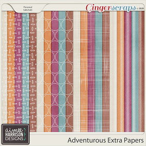 Adventurous Extra Papers by Aimee Harrison