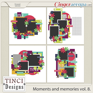 Moments and memories vol. 8.