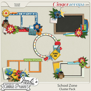 School Zone - Cluster Pack