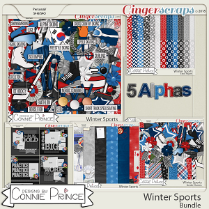 Winter Sports- Core Bundle by Connie Prince