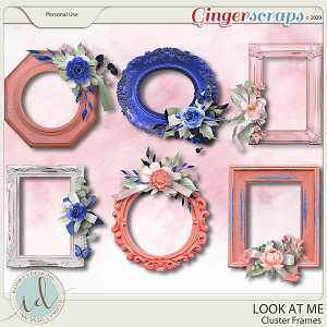Look at Me Cluster Frames by Ilonka's Designs
