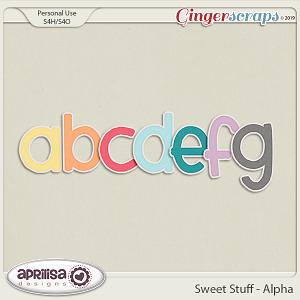 Sweet Stuff - Alpha by Aprilisa Designs