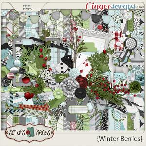 Winter Berries kit by Scraps N Pieces