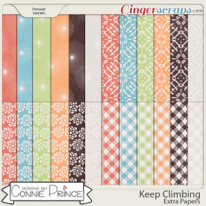 Keep Climbing - Extra Papers by Connie Prince