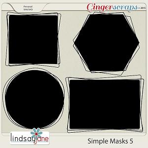 Simple Masks 5 by Lindsay Jane