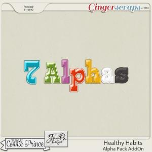 Healthy Habits - Alpha Pack AddOn
