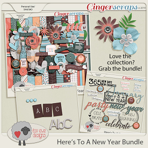 Here's To A New Year Bundle by Luv Ewe Designs