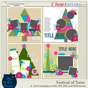 Festival of Trees Templates