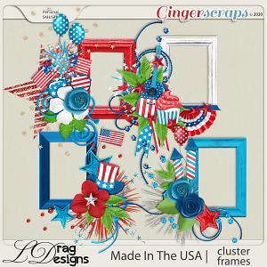 Made In The USA: Cluster Frames by LDragDesigns
