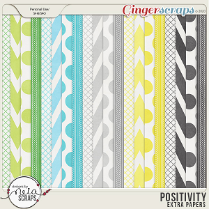 Positivity - Extra Papers - by Neia Scraps