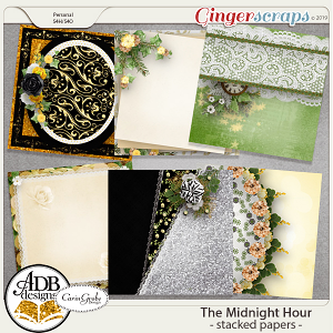 The Midnight Hour Stacked Papers by ADB Designs