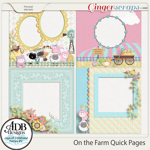 On the Farm Quick Pages by ADB Designs