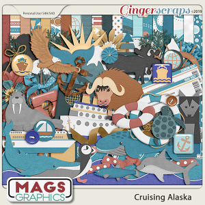 Cruising Alaska KIT by MagsGraphics