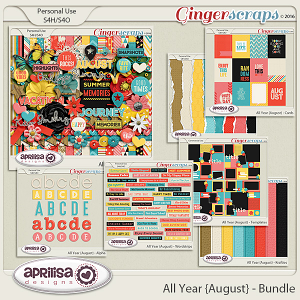 All Year {August} - Bundle