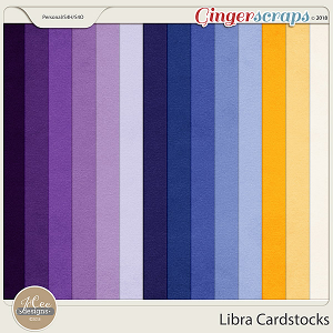 Libra Cardstocks by JoCee Designs