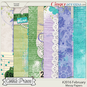 #2016 February - Messy Papers