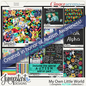 My Own Little World {Complete Autism Collection} by Jumpstart Designs