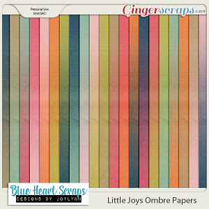 Little Joys Ombre Paper Pack