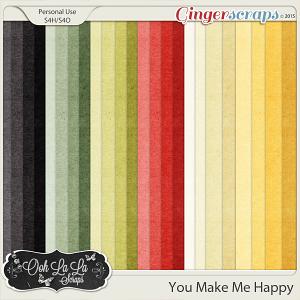 You Make Me Happy Kraft Solids