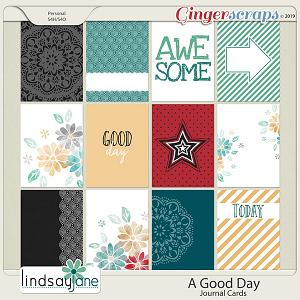A Good Day Journal Cards by Lindsay Jane
