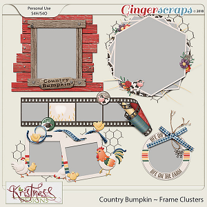 Country Bumpkin Clustered Frames