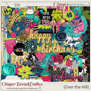 GingerBread Ladies Collab: Over The Hill