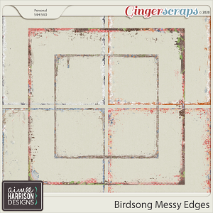 Birdsong Messy Edges by Aimee Harrison