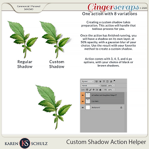 Custom Shadow Helper Action