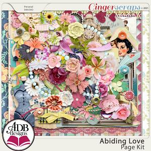 Abiding Love Page Kit by ADB Designs