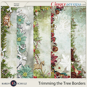 Trimming the Tree Borders by Karen Schulz