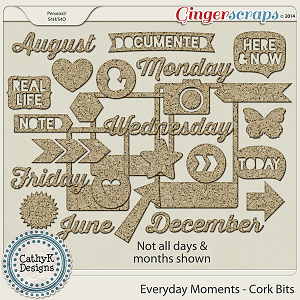 Everyday Moments - Cork Bits