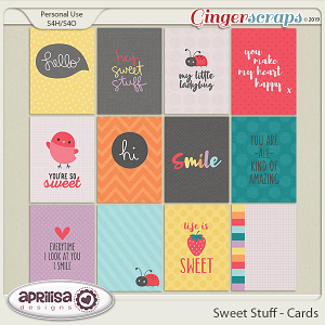 Sweet Stuff - Cards by Aprilisa Designs