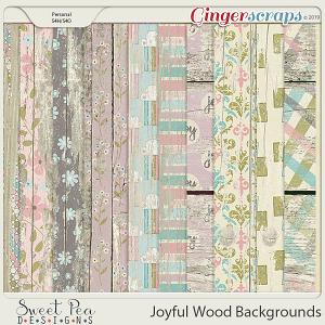 Joyful Wood Backgrounds