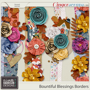 Bountiful Blessings Borders by Aimee Harrison