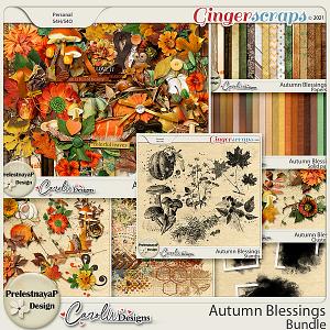 Autumn blessings Bundle by PrelestnayaP Design and CarolW Designs