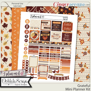 Grateful Planner Mini Kit