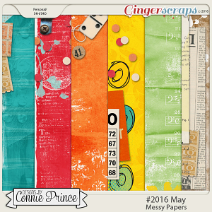 #2016 May - Messy Papers