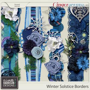 Winter Solstice Borders by Aimee Harrison