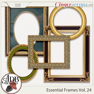 Heritage Resource - Essential Frames Vol 24 by ADB Designs