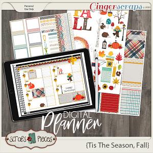 Tis The Season - Fall Planner - Scraps N Pieces